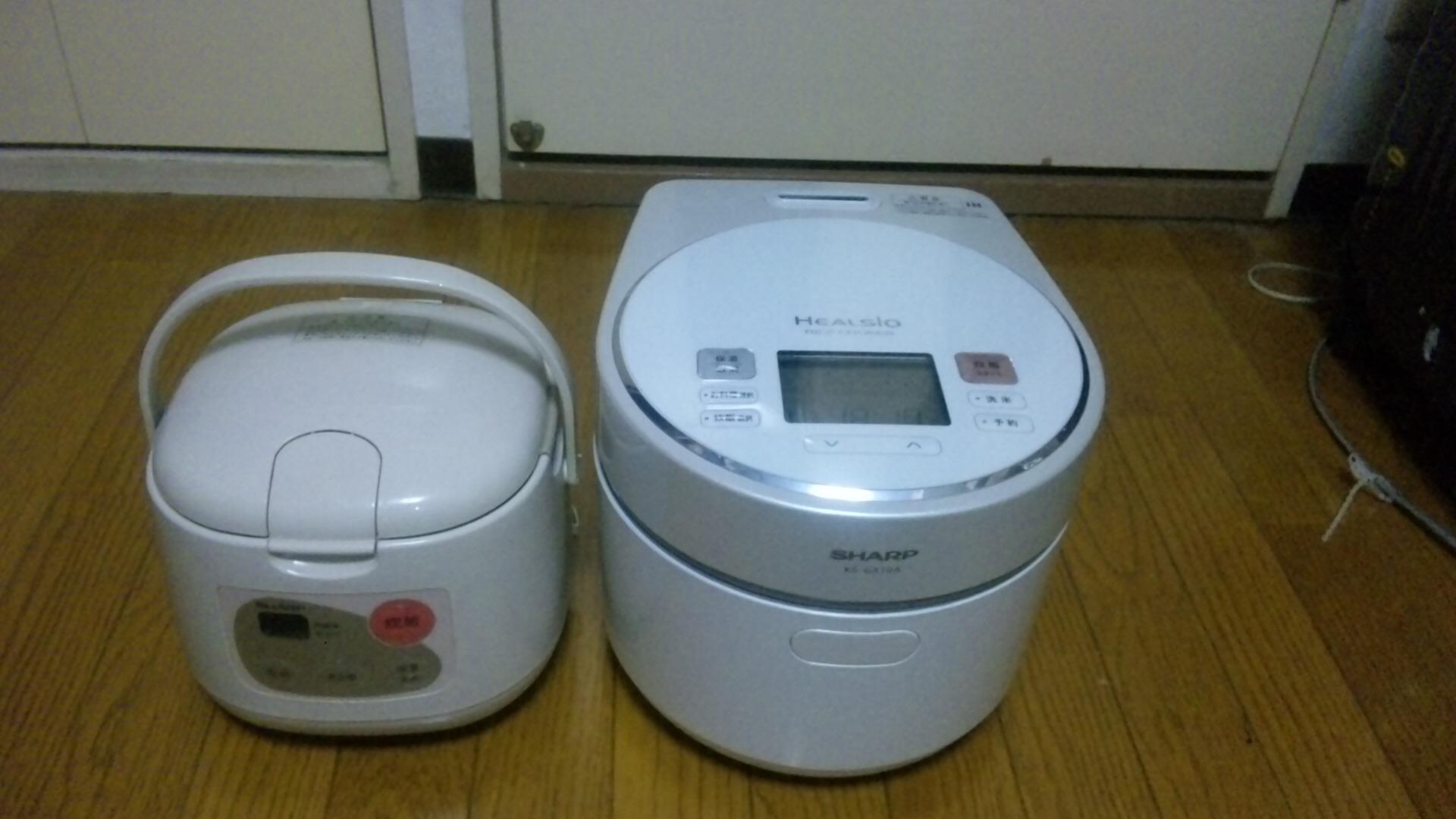 ヘルシオ炊飯器