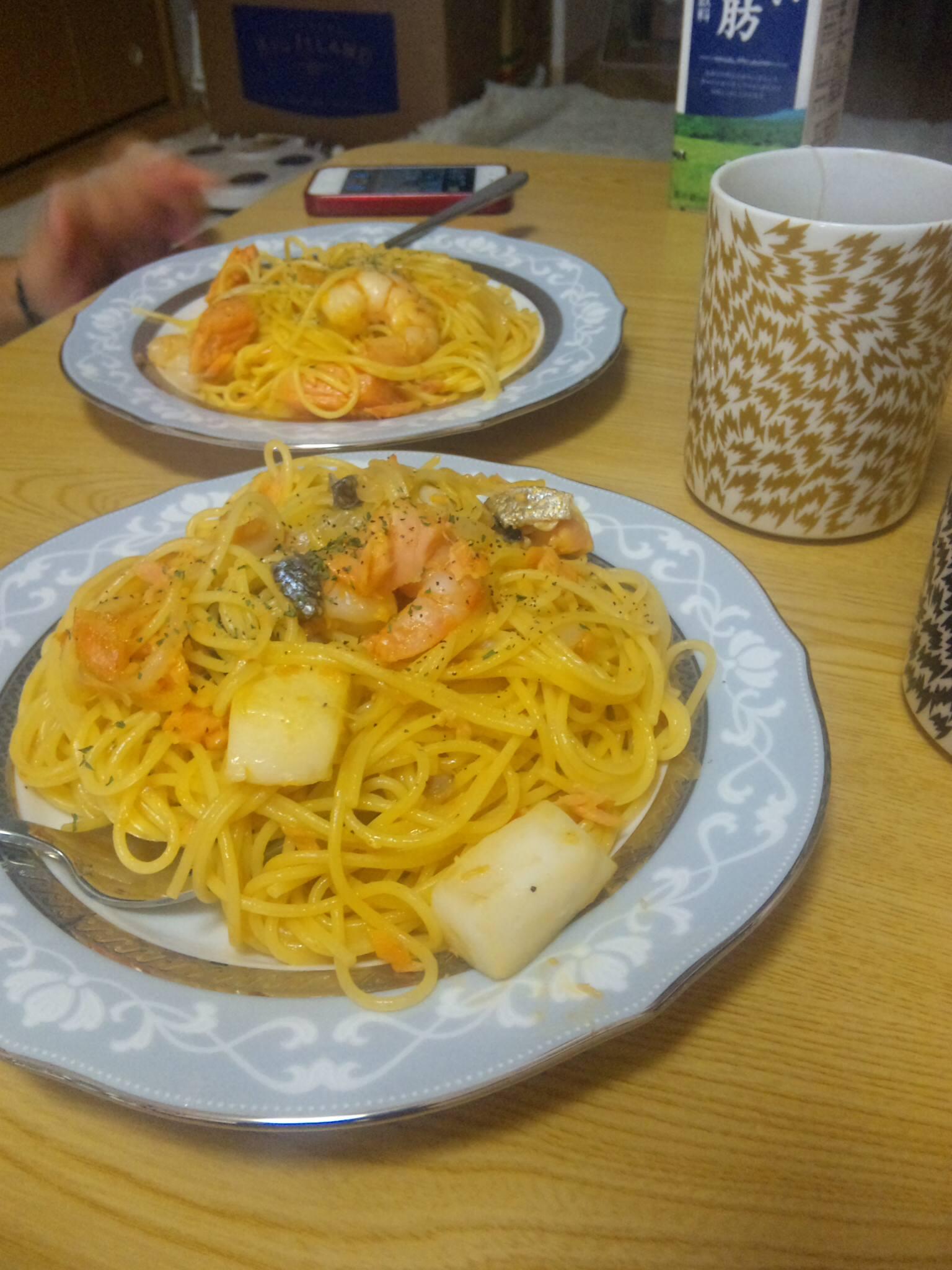 海鮮スパゲティー